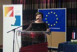 Štefica Krčmar, potpredsjednica udruge Najuzornije hrvatske seoske žene (snimila Božica Brkan)