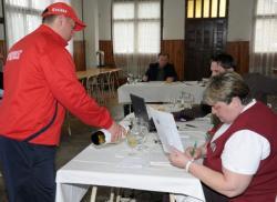 Predsjednica ocjenjivačkoga suda Vlasta Rubeša Vili na ocjenjivanju (Fotografija Jovica Nikšić)