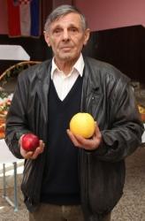 Ivan Bašić, autor teksta i više knjiga o ekološkom voćarstvu iz vlastita iskustva (Snimio Dražen Kopač / Acumen)