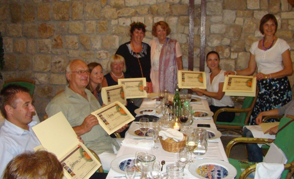 Ocjenjivači, organizatori i nagrađeni (Fotografija Deša)
