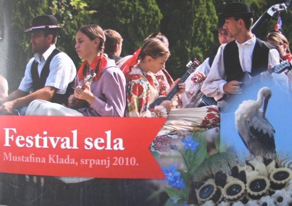 Brošura o prva tri Festivala sela