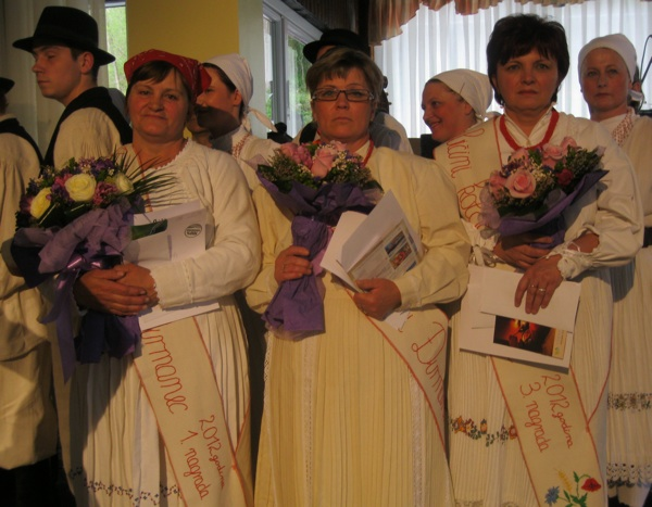 Pobjednice Slijeva nadeseno: Slavica Vlahović, Slavica Strsoglavec i Nevenka Vorih (Snimio Miljenko Brazak / Acumen)