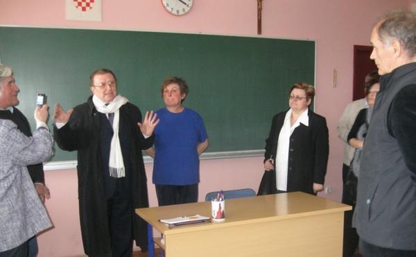 Ponovno u svojoj staroj školi (Snimio Miljenko Brezak / Acumen)