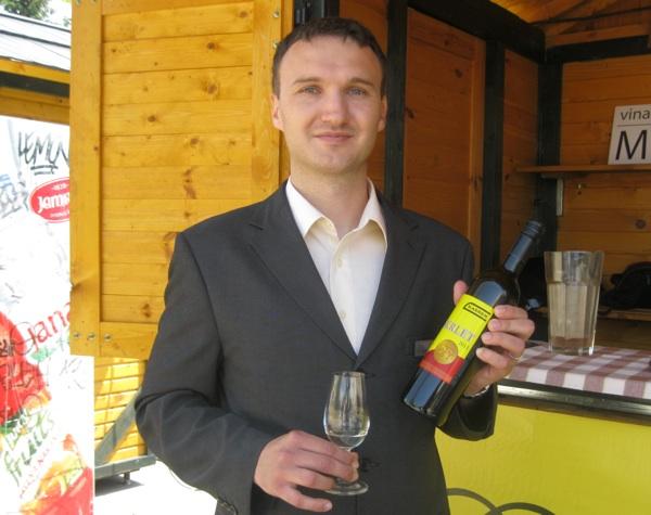 Mislav Kašner, predsjednik Udruge Moslavačka vinska cesta (Snimio Miljenko Brezak / Acumen)