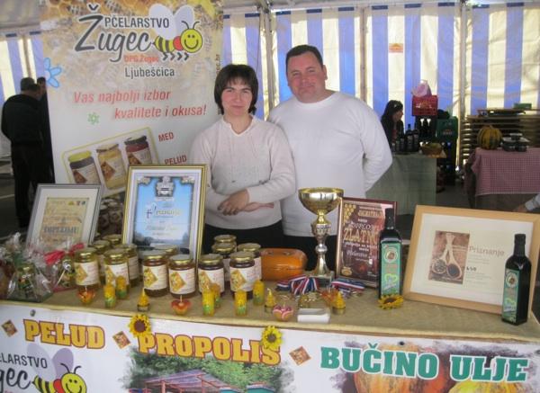 Mnogi OPG-i poput OPG-a Žugec iz Ljubešćice uz bučino ulje nude i druge proizvode (Snimio Miljenko Brezak / Acumen)