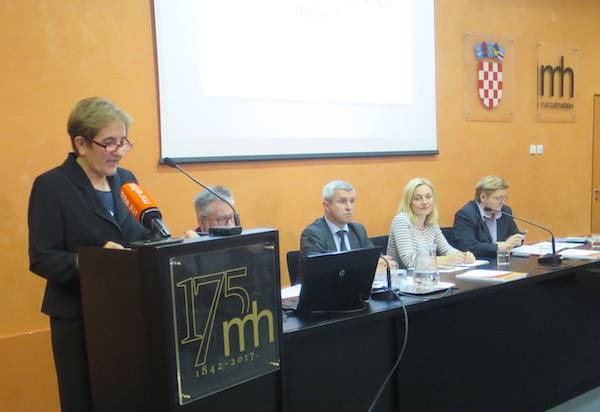 Pozdrav sudionicima dr. sc. Ljiljana Skočić Gašparec (Fotografija Miljenko Brezak / Živi selo)
