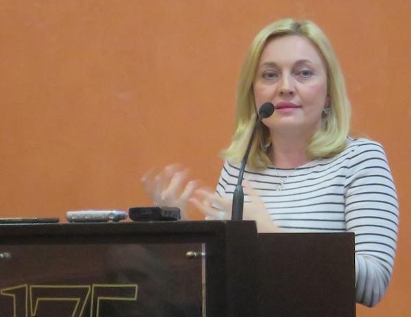 Marijana Petir pokušala je predstaviti što više vrijednih informacija (Fotografija Miljenko Brezak / Živi selo)